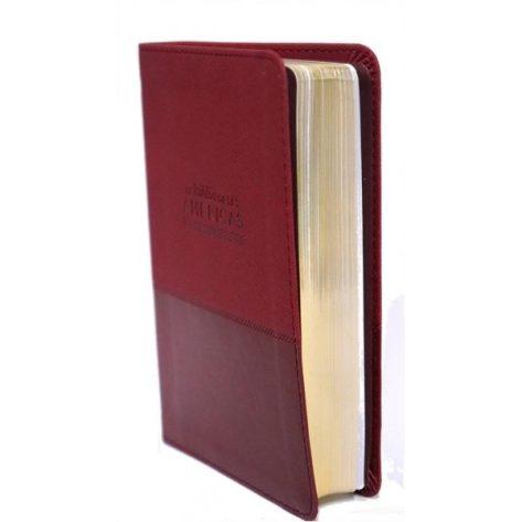 BIBLIA LBLA ULTRAFINA COMPACTA CAFE DOS TONOS