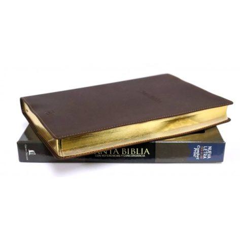 BIBLIA RVR77 DE REFERENCIAS Y CONCORDANCIA IMITACION PIEL ELEGANTE