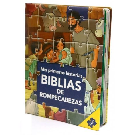 BIBLIA EN ROMPECABEZAS - MIS PRIMERAS HISTORIAS