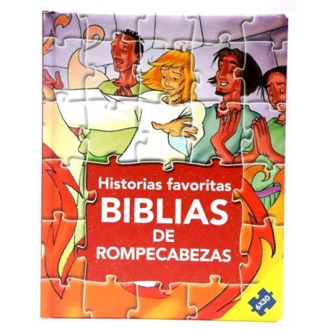 BIBLIA EN ROMPECABEZAS - HISTORIAS FAVORITAS