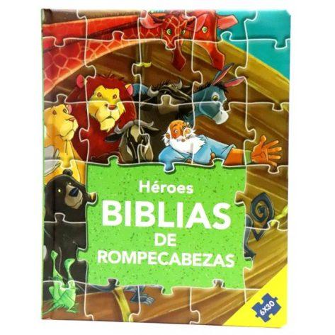 BIBLIA EN ROMPECABEZAS - HEROES