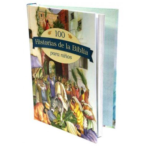 100 HISTORIAS DE LA BIBLIA PARA NIÑOS TAPA DURA