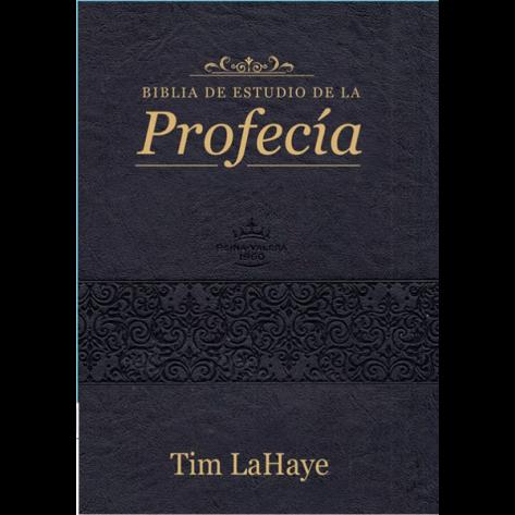 BIBLIA RVR1960 DE ESTUDIO PROFECIA NEGRO INDICE