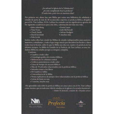BIBLIA RVR60 DE ESTUDIO DE LA PROFECIA COLOR MARRON