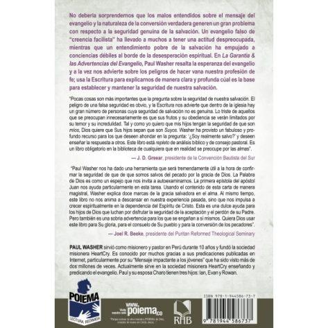 LA GARANTIA Y LAS ADVERTENCIAS DEL EVANGELIO