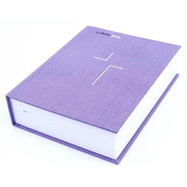 BIBLIA NVI JESUS TAPA DURA LAVANDA