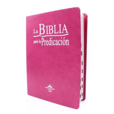 BIBLIA RVR01960 DE LA PREDICACION NEGRA CON INDICE