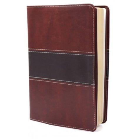 BIBLIA NVI DEL PESCADOR LETRA GRANDE VERDE SIMIL PIEL