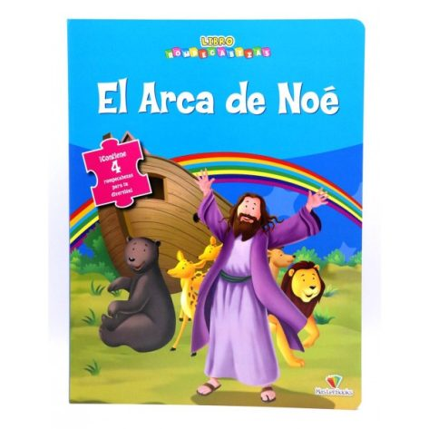 LIBRO ROMPECABEZAS EL ARCA DE NOE