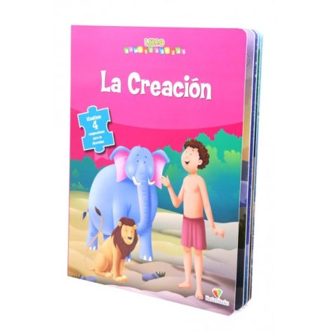 LIBRO ROMPECABEZAS LA CREACION