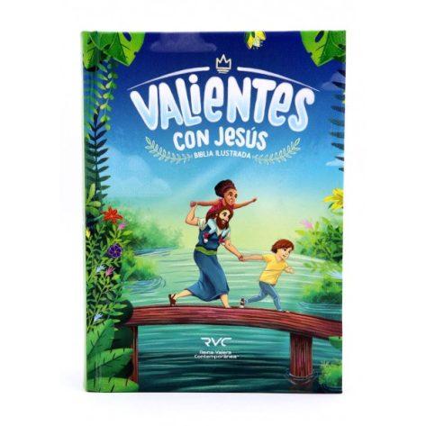 B.RVC ILUSTRADA VALIENTES CON JESUS T/D