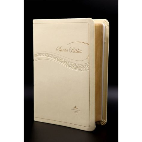 BIBLIA CHICA IMTACION BAIGE LG RVR045CLG