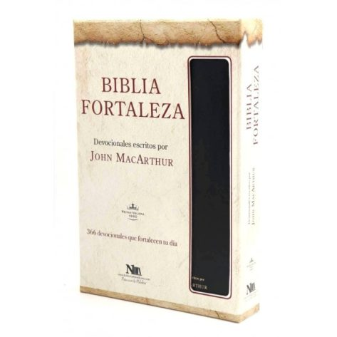 BIBLIA FORTALEZA RVR60 NEGRO