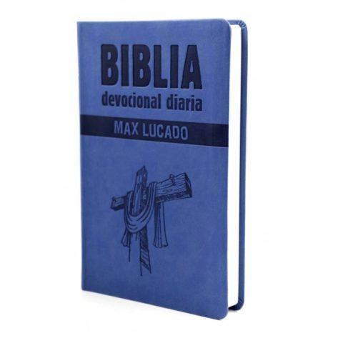 B. RVR60 DEVOCIONAL DIARIA - AZUL MAX LUCADO